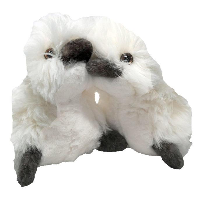 Caneton Blanc Taille unique caresse orylag 2