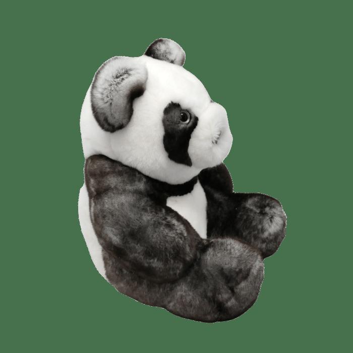 Peluche Panda Gris profil