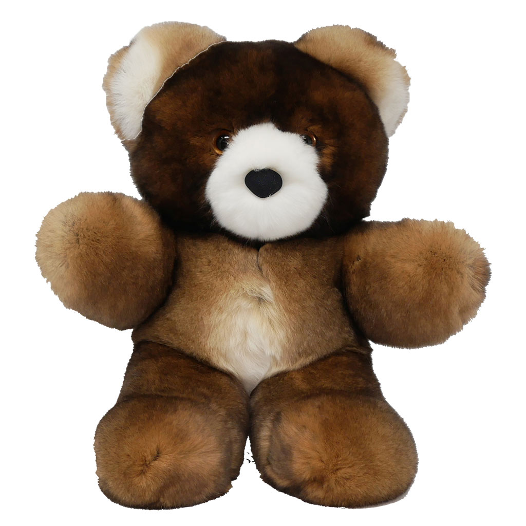 Peluche ours marron S Caresse Orylag 1