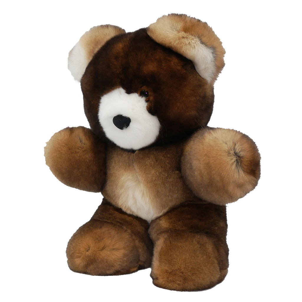 Peluche ours marron S Caresse Orylag 2