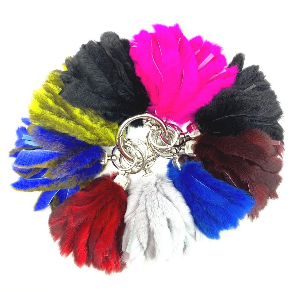 Porte-clés lanières couleurs