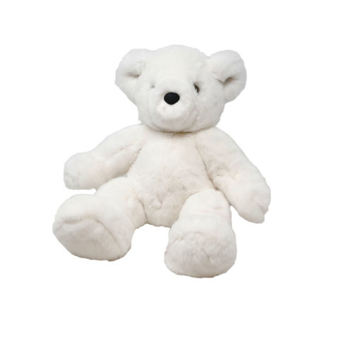 peluche-caresse-ours-teddy-blanc