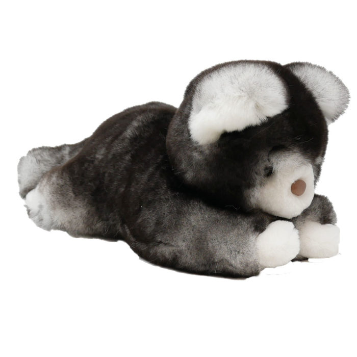 peluche chat gris S caresse orylag 2