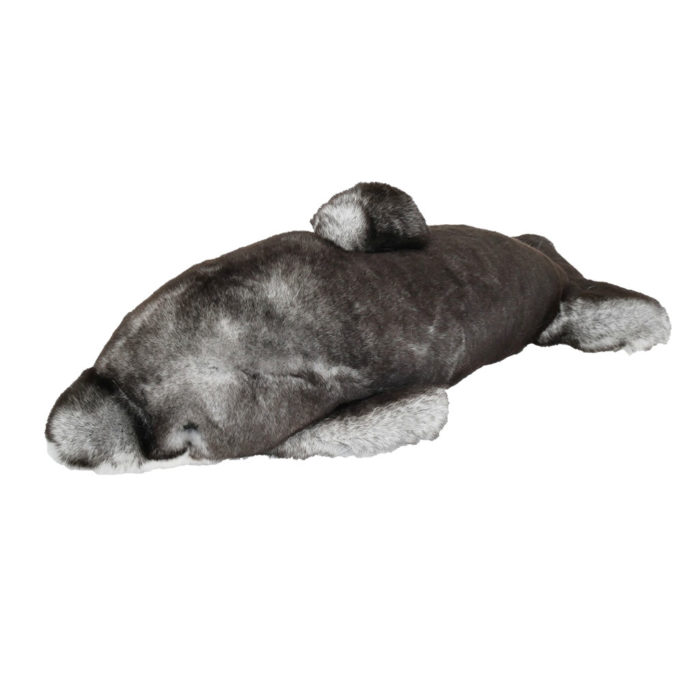 peluche dauphin gris caresse orylag 1
