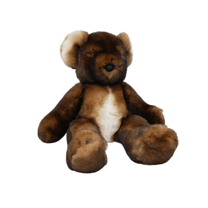 peluche ours teddy marron