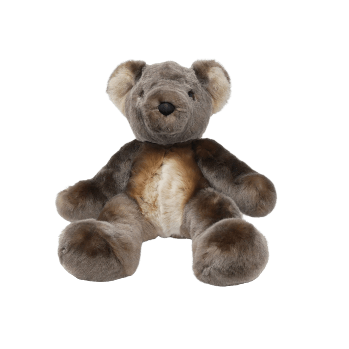 peluche ours teddy sauvage