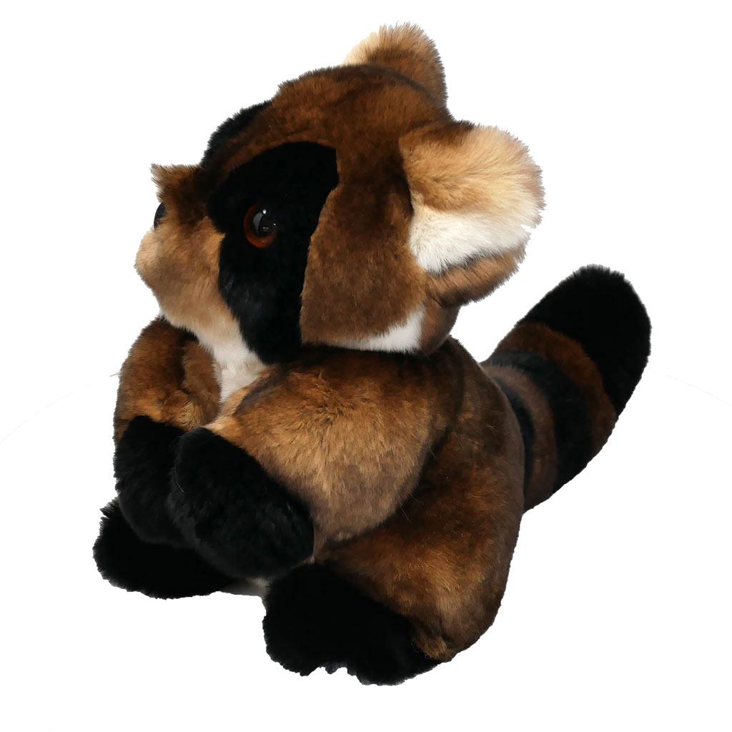 peluche raton-laveur marron caresse orylag 1