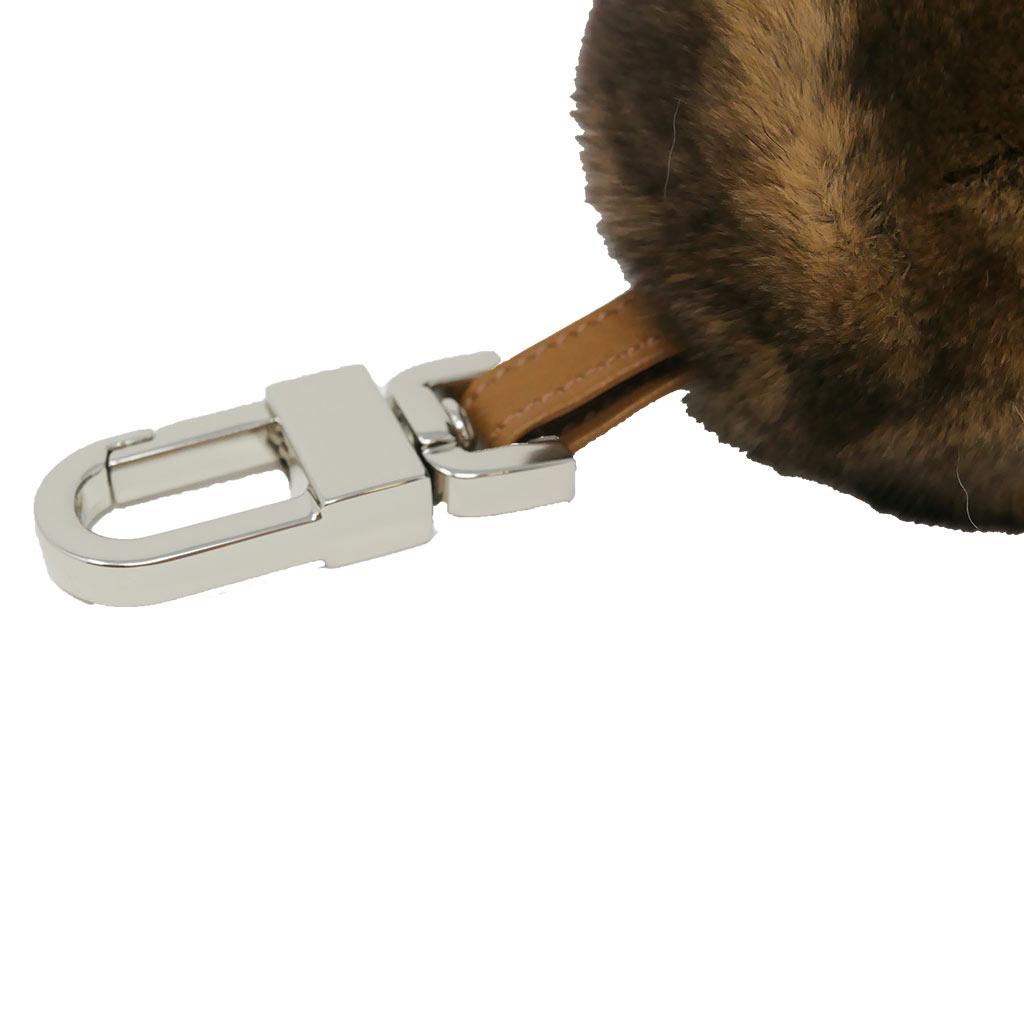porte clés boule beige caresse orylag 2