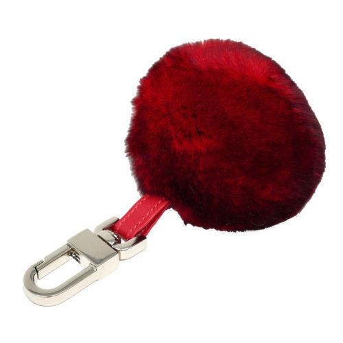 porte clés boule rouge caresse orylag 1