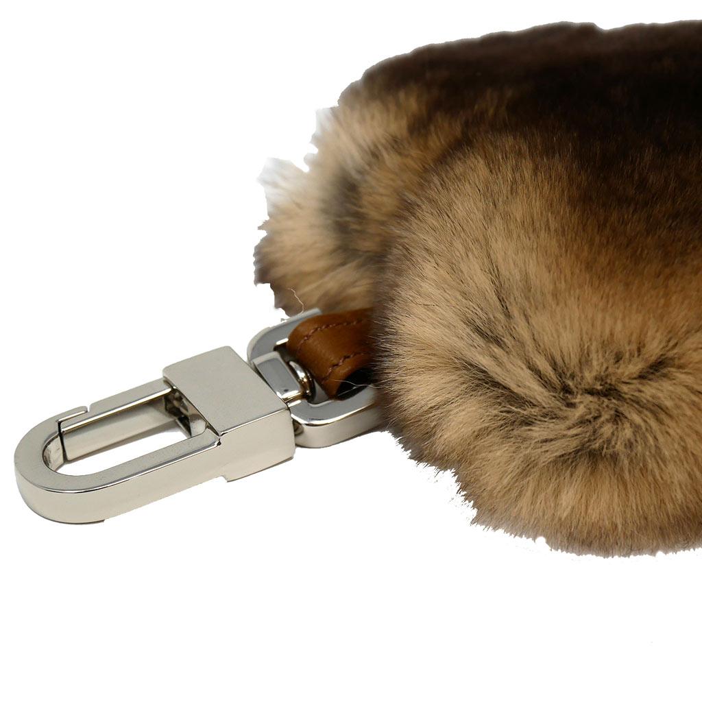porte clés cœur beige caresse orylag 2