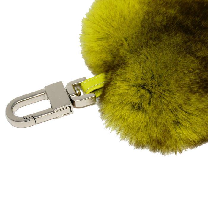 porte clés cœur pistache caresse orylag 2