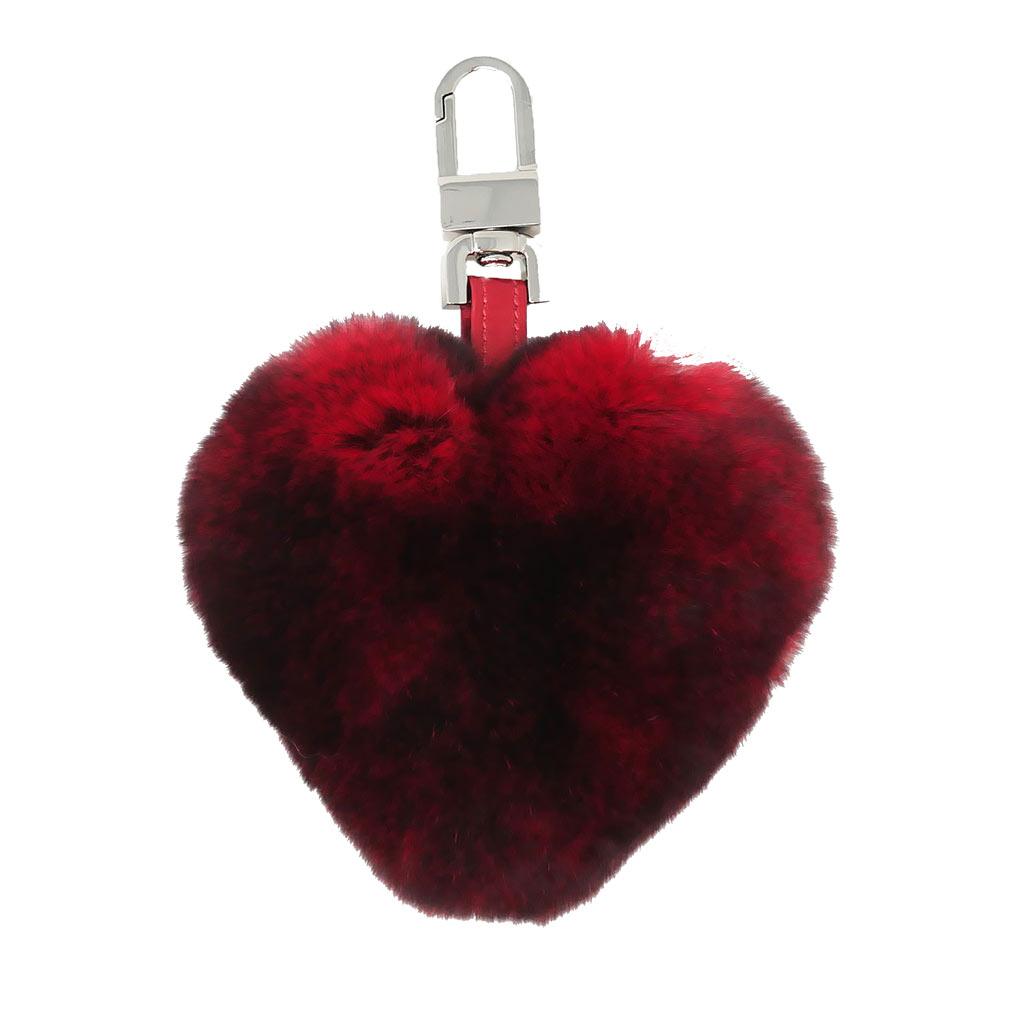 porte clés cœur rouge caresse orylag 1