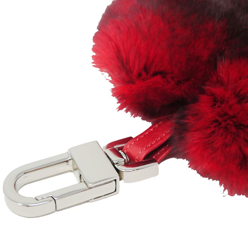 porte clés cœur rouge caresse orylag 2