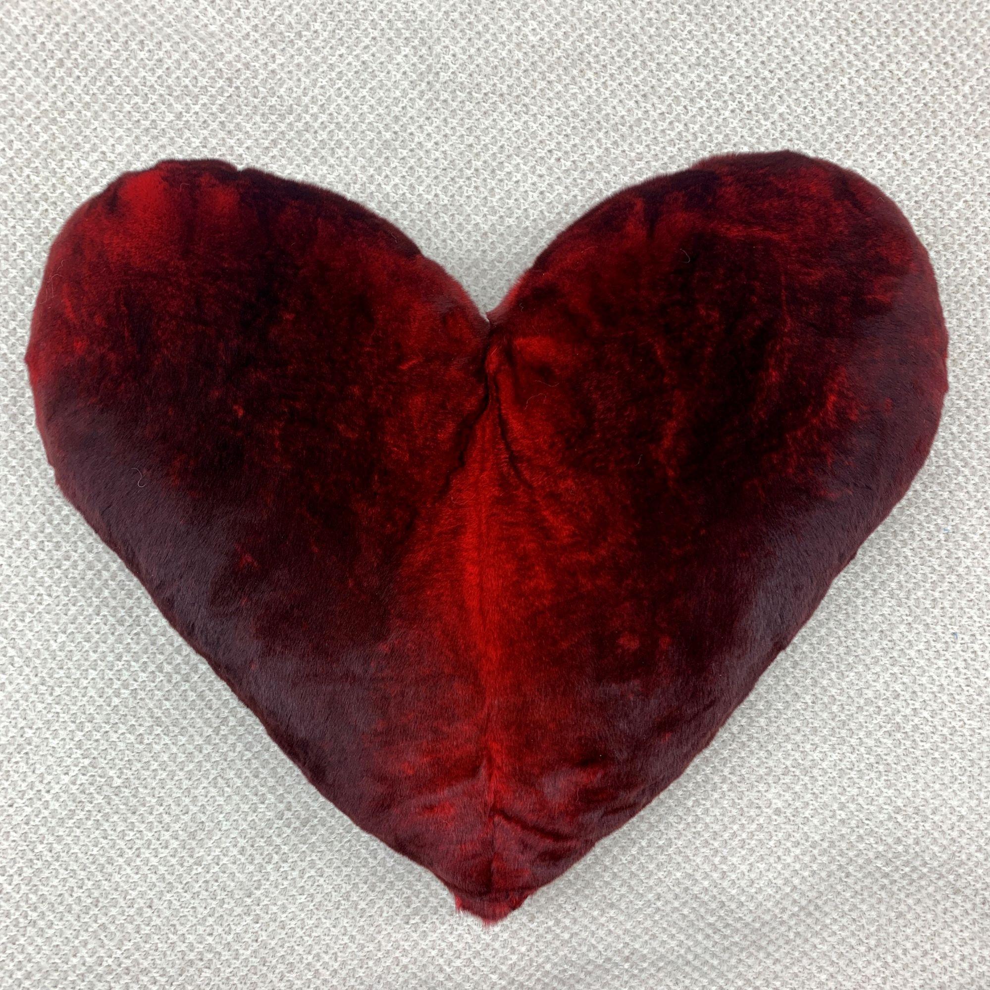 Coussin Coeur en fourrure d'Orylag