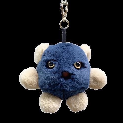 Porte-clés monstre Sully Face